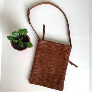 Platania Italian Woven Genuine Leather Purse